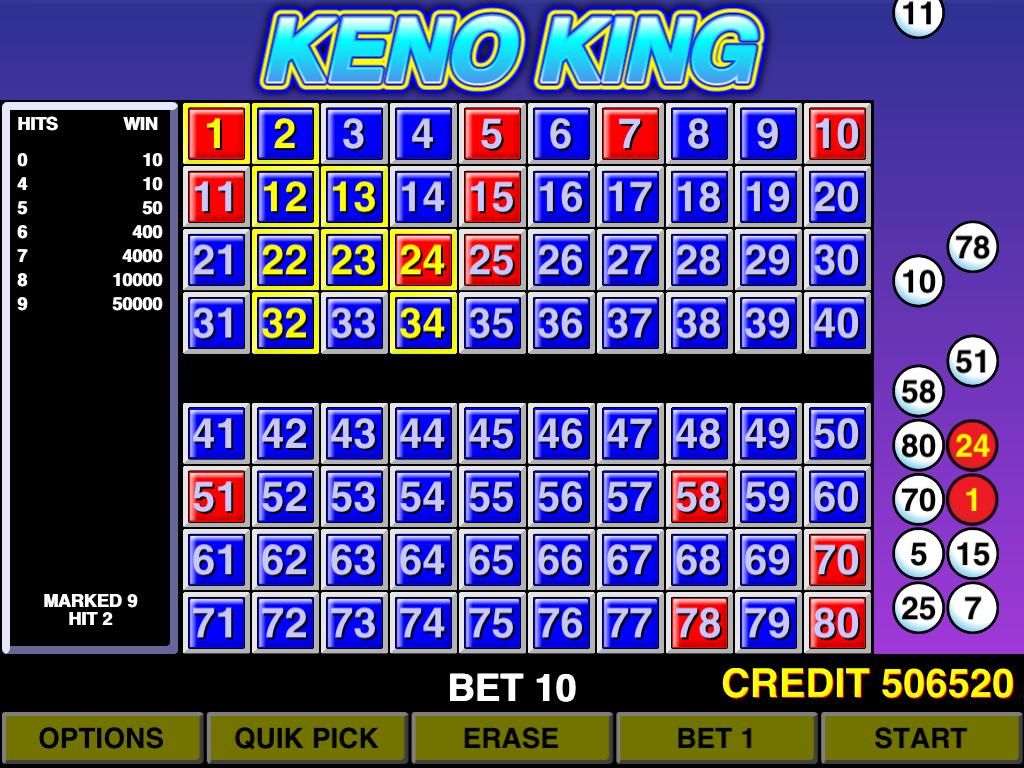 game king keno download